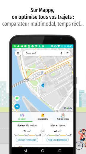 Mappy u2013 Plan, Comparateur du2019itinu00e9raires, GPS Apk 1