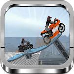 Rooftop Motorbike Stunts 3D Icon