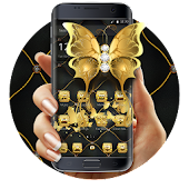 Gilt butterfly theme