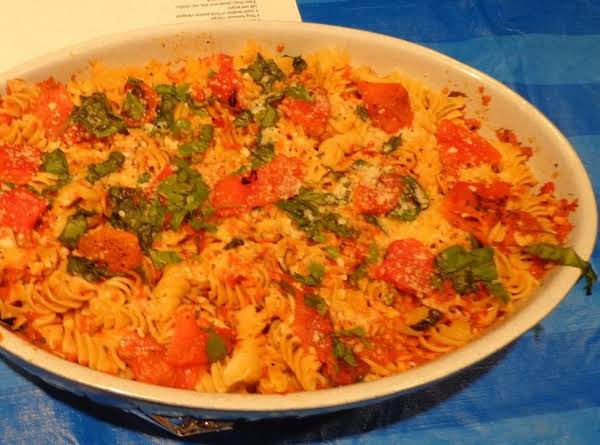 Roasted Pepper Pasta Recipe
