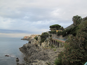 Photo: Looking west at Nervi