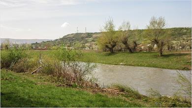 Photo: Turda, Str. Constructorilor , dig,  vedere Râul Arieș - 2019.04.15
