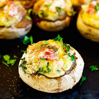 Stuffed Baby Bella Mushrooms