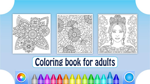 Coloring Book for Adults filehippodl screenshot 6