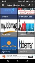 Latest Nigerian Jobs screenshot thumbnail