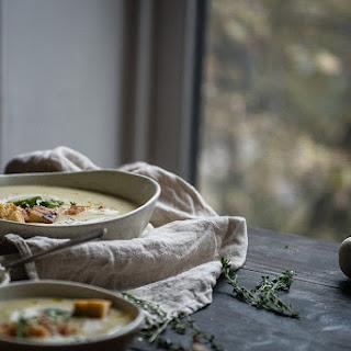 Potato, Garlic, & Leek Soup