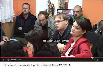 Photo: Dotaz J. Vagundy na zrušení dekontaminačních ploch (1:06:13) https://www.youtube.com/watch?v=p__ERrQhzNY#t=3973 — v Hasičská zbrojnice Mutěnice.