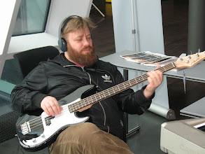 Photo: Trommari á bassa