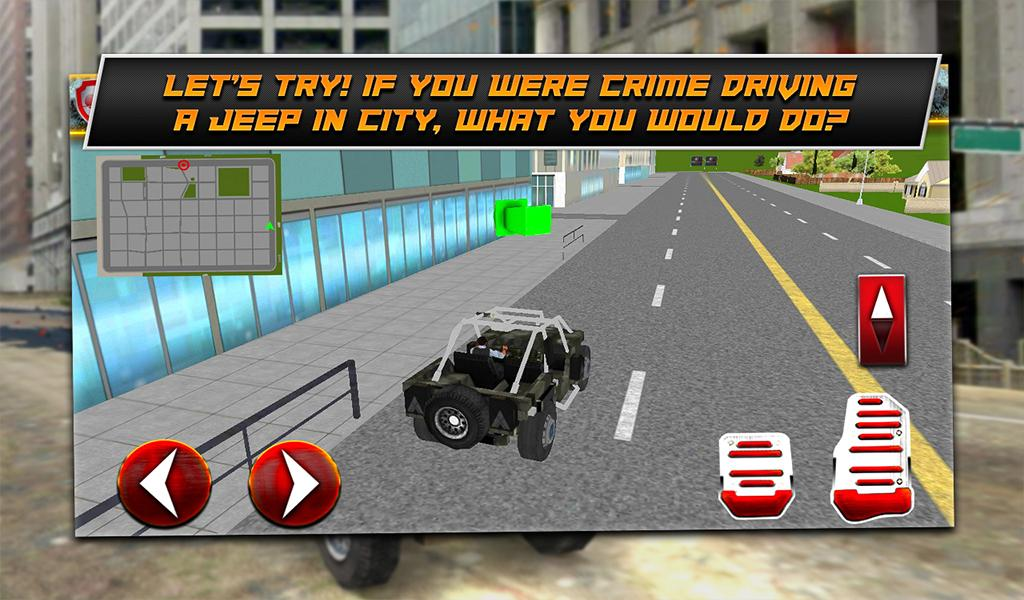 Crime City Jeep- screenshot