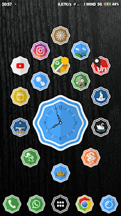 Ginevra Icon Pack Screenshot