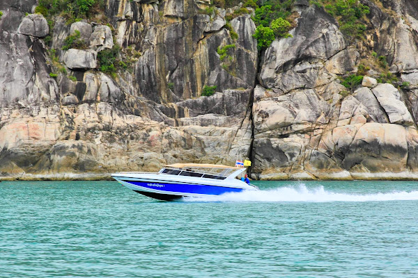 Cruise by speed boat along the east coast of Koh Tao