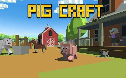 Blocky Pig Simulator 3D - náhled