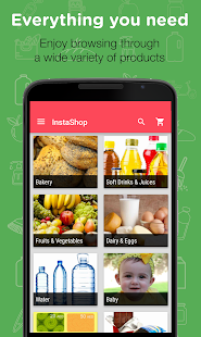 InstaShop - Grocery Delivery- screenshot thumbnail
