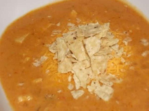 Cheesy Chicken Enchilada Soup (chili's) Recipe