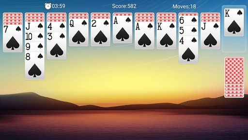 Classic Spider Solitaire-Free Solitaire Card Games 1.7.1 screenshots 6