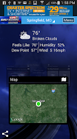 Screenshot of KSPR Weather