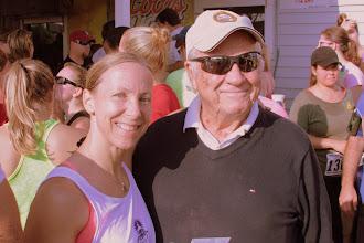 Photo: Nancy and Poppa Stedman