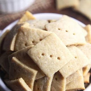 Simple Quinoa Crackers.