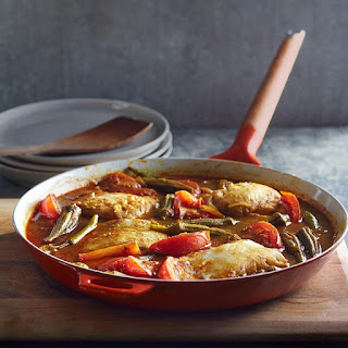 Spicy Tamarind Stewed Fish & Okra Recipe