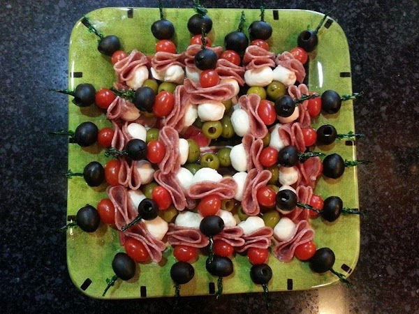 Antipasto Skewers Recipe