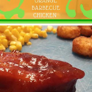 Crockpot Orange Barbecued Chicken Recipe