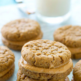 Extra-Chewy Peanut Butter Sandwich Cookies