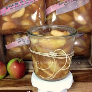 Freezer Apple Pie Filling! (4-5 Pies).