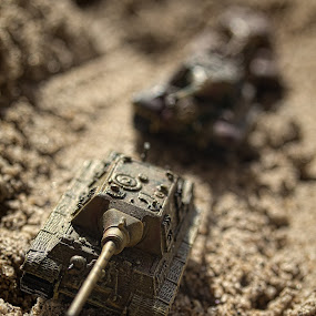 The Tanks by Norbertus Andreanto Photos - Artistic Objects Toys ( miniatur, tank, toy, object )