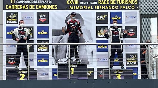 Gran carrera de Francisco Puertas en el inicio de la Copa Kobe Toyota