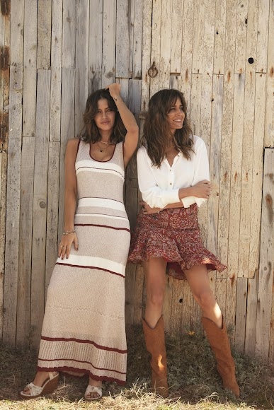 Sara Carbonero e Isabel Jiménez, periodistas y creadoras de la firma Slow Love.