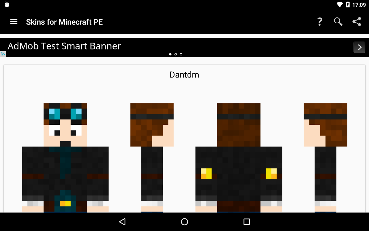 Screenshots of Skins for Minecraft PE for iPhone