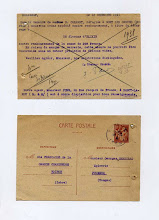 Photo: Une belle pièce !  Correspondance commerciale datée de 1941 et donc un contexte bien particulier.  Il est question d'une commande pendant l'occupation, de pénurie de flacons de verre et d'élixir végétal de la Grande Chartreuse !
