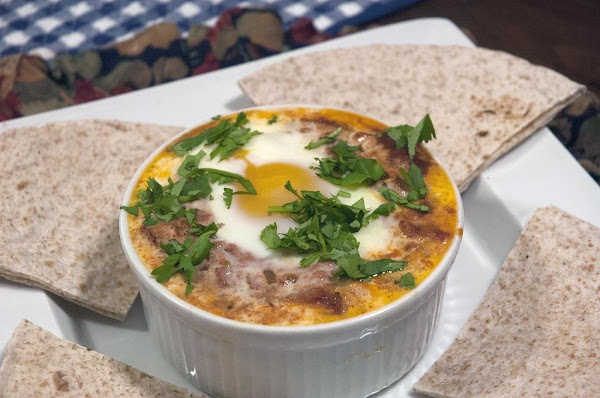 Eggs Poached In A Spicy Tomato Sauce (shakshouka) Recipe