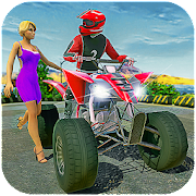 Offroad ATV Bike Taxi Driving Games 2019