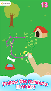 Connect the Dots -Animal Land-- screenshot thumbnail