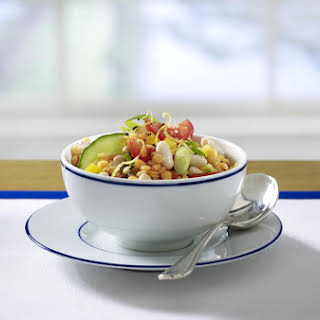 Red Lentil Salad.