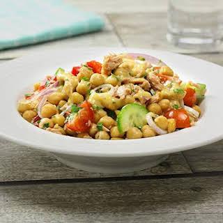 Chickpea & Tuna Salad.