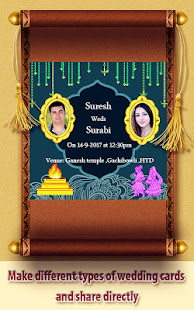 Wedding card maker apps on google play screenshot image stopboris Image collections