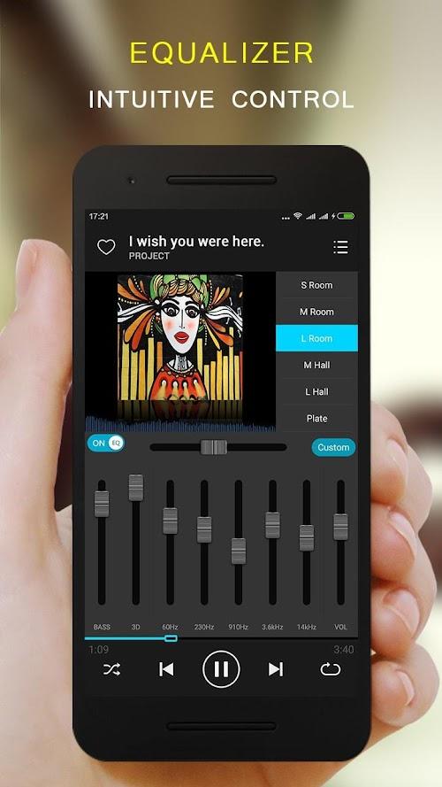 Screenshot 2 KX Music Player Pro 1.6.8 APK PAID