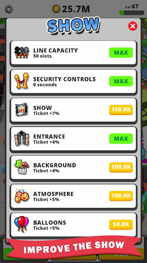 Télécharger Idle Concert apk mod screenshots 5