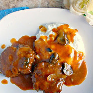 Crock Pot Salisbury Steak.