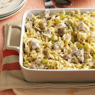 Sauerkraut Hot Dish.