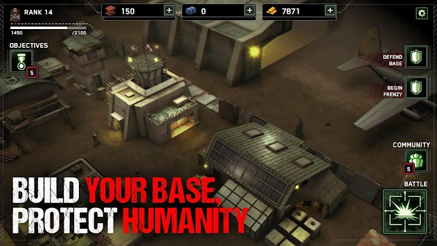 Zombie Gunship Survival APK screenshot thumbnail 3