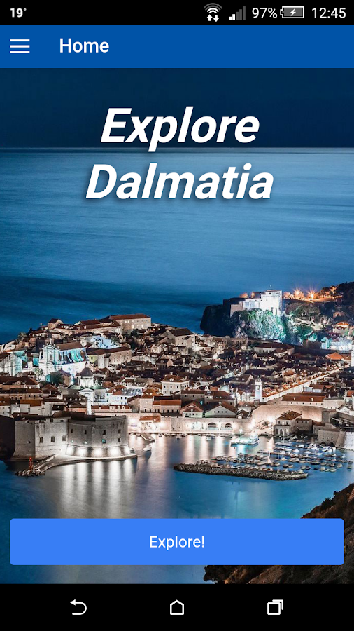 Explore Dalmatia- screenshot