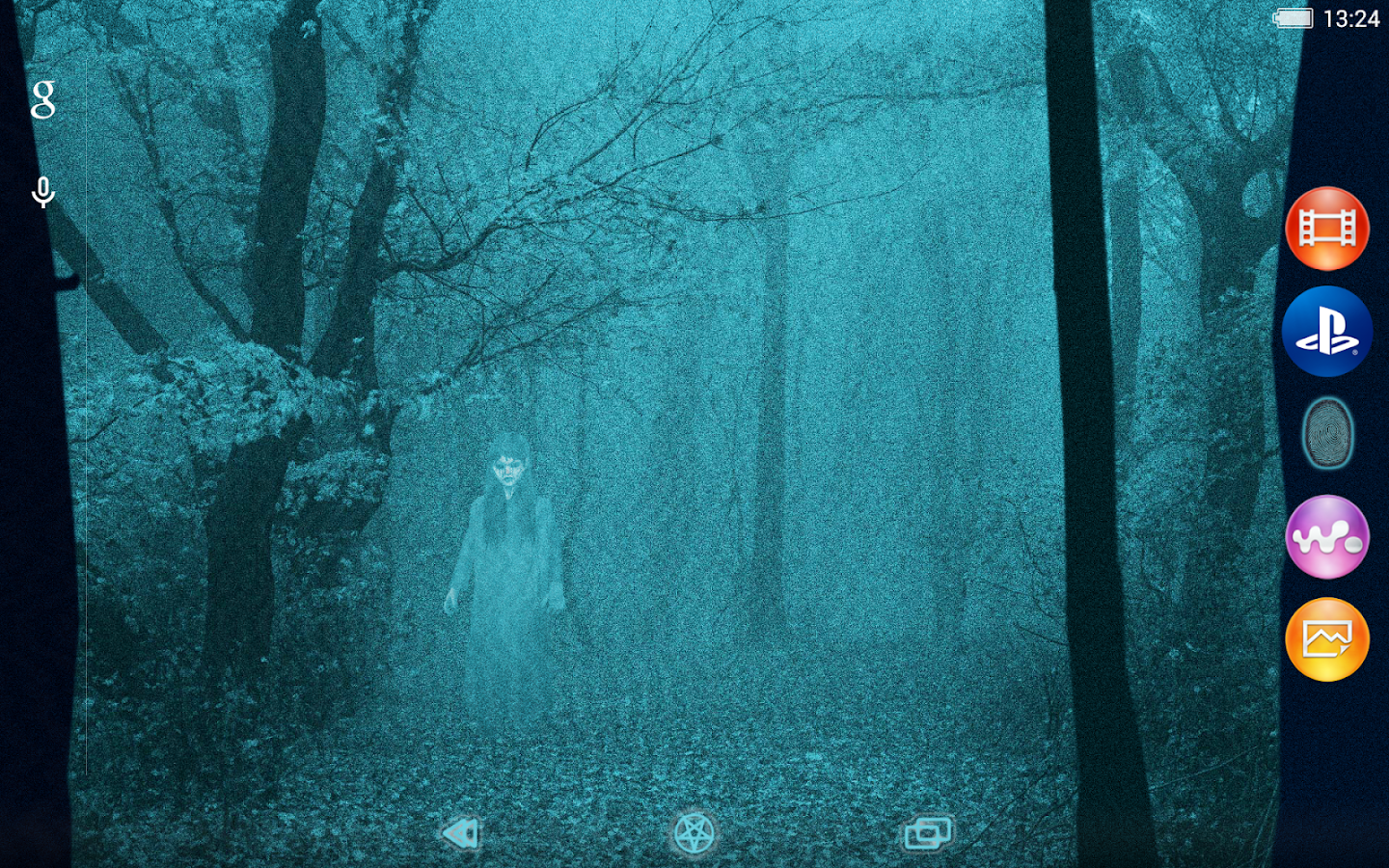 XPERIA™ Scary Halloween Theme- screenshot