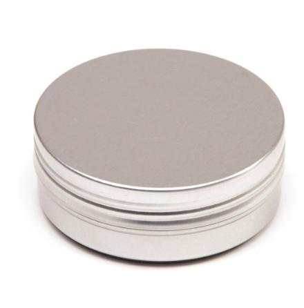 Aluminiumdosa med slät kant - 100 ml