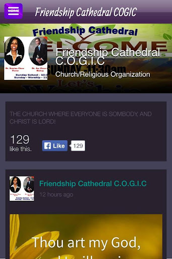 Friendship Cathedral COGIC
