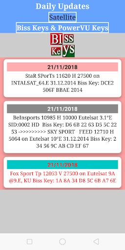 Download Biss Key Powervu Key Cccam Cline Free Apk Latest