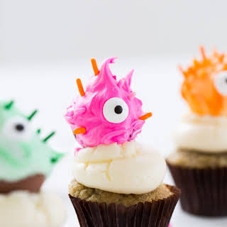 DIY Truffle Monster Cupcake Toppers.