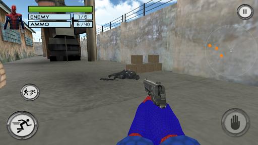 Super Spider Hero Anti Terrorist Battle: Spider 3D